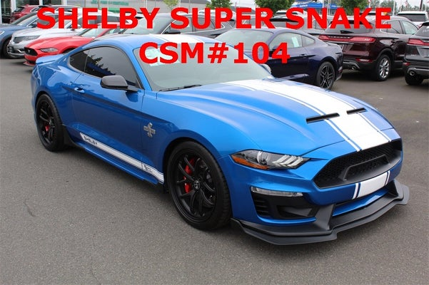Ford Mustang Lease >> 2019 Ford Mustang GT Premium SHELBY SUPER SNAKE CSM # 104 ...