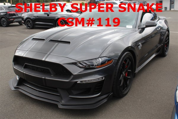 2019 Ford Mustang Gt Premium Shelby Super Snake